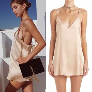 Zillah Slip Dress Rose Gold, Are You Am I